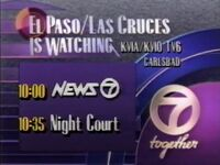 KVIA-TV Channel 7 America's Watching 1991