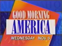 Good Morning America 09-11-1994