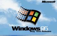 Windows 95 RC1 Bootscreen (May 1995)