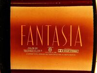 Fantasia dolby rerecording title card