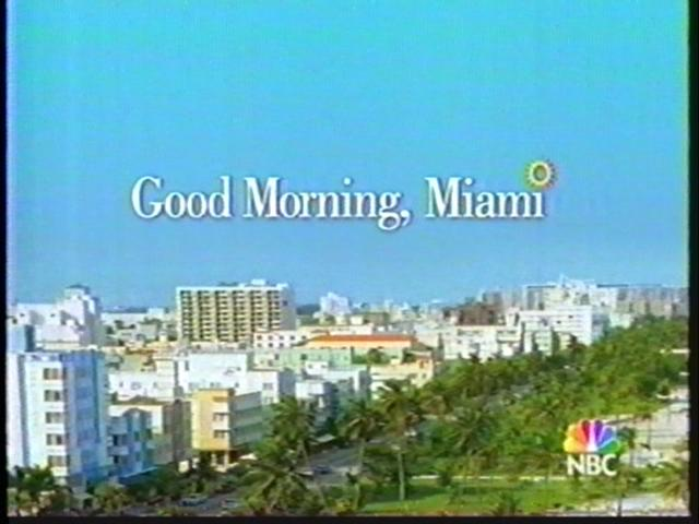 Good Morning, Miami