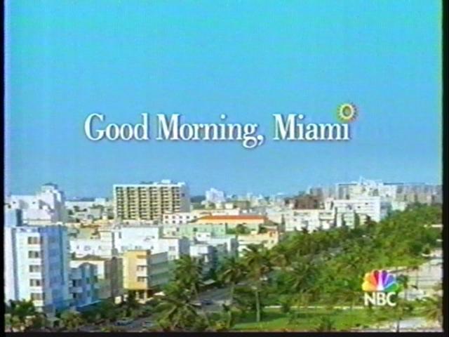 Good Morning, Miami