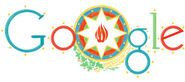 Google Azerbaijan Independence Day 2013