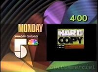 WMAQ-TV The Place to Be 1990-91