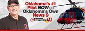 KWTV-TV's News 9's Bob Mills Skynews 9 Video Promo From September 2012