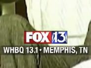 WHBQ Fox 13 Memphis ID Bug 2020