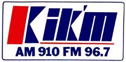KIKM AM 910 FM 96.7.jpg