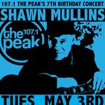 WXPK-FM's 107.1 The Peak's 7th Birthday Concert Promo For Tuesday Night, May 3, 2011.jpg