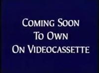 Walt Disney Studios Home Entertainment Buena Vista Coming Soon to Own on Videocassette Logo