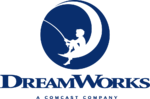 DreamWorks Animation 2016 logo with Comcast byline
