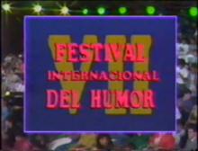 Festival Internacional del Humor 1990 logo.png