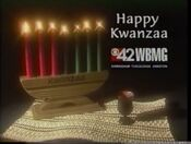 WBMG 42 CBS Happy Kwanzaa 1997