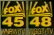 WNRW FOX 45 WGGT FOX 48 1992