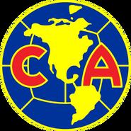 Escudo Club América 1981-1992 Azul