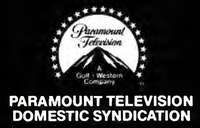 Paramount Television Domestic Syndication