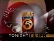 WEWS NewsChannel 5 1996 Tonight at 5 &6 PM