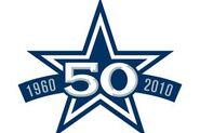 Dallas Cowboys 50th Anniversary Logo