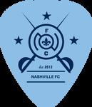 Nashville FC logo (blue pick)