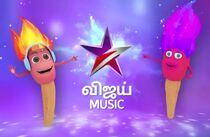 V Music mascot