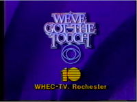 WHEC-TV You and CBS We've Got The Touch 1984