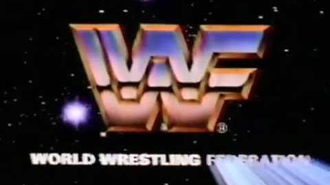 WWF logo Signature intro 'Hulk Hogan era' (1985)