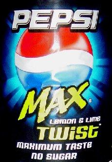 Pepsi Max Twist