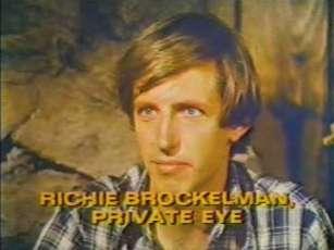 Richie Brockleman, Private Eye