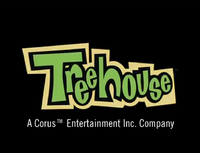 Treehouse TV in Corus byline (2004) logo