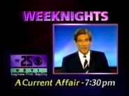 WEYI-TV 25 A Current Affair Promo 1988