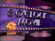 WUAB Channel 43 8'O Clock Movie 1989 a