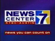 KTBC NewsCenter 7 5pm-630pm News 1995 Promo Spot