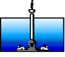 Nelson Entertainment Color print logo (White text)