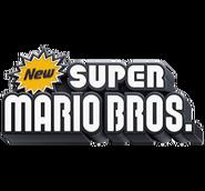 New Super Mario Bros Logo 3D Version