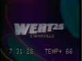 WEHT 25 Television You Can Feel It 1988