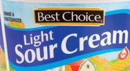 Best Choice Light Sour Cream