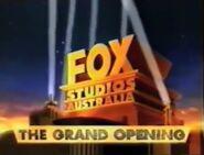 Fox Studios Australia Grand Opening