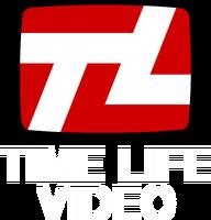 Time Life Video Print Logo (White Text)