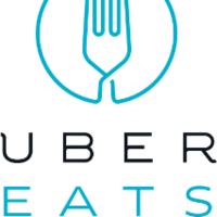 Uber Eats Logo : Find the best restaurants that deliver.