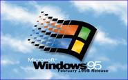 Windows 95 RC1 Bootscreen (February 1995)