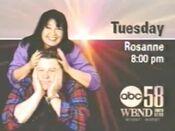 WBND Roseanne 1995 ID