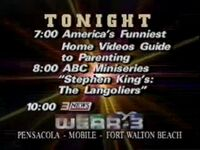 WEAR ABC 1995 Sunday Lineup