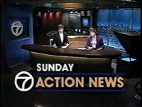 WXYZ Sunday Action News 1987