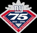 New York Giants logo (75 Years)