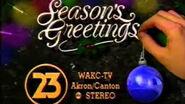 WAKC-TV 23 SEASONS GREETINGS-'93