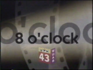 WUAB 43 8 O' Clock Movie 1997