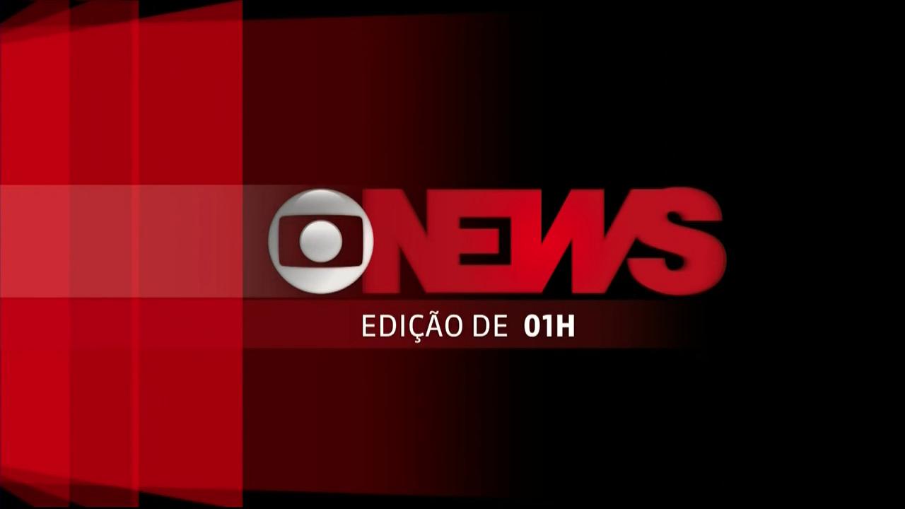 Jornal GloboNews - Edição de 01h