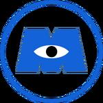 Monsters inc logo by jubaaj-d8syzr0