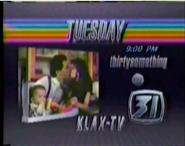 KLAX-TV Thirysomething Promo