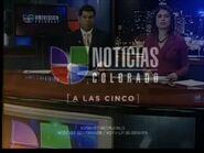 Kcec kvsn noticias univision colorado a las cinco package 2010