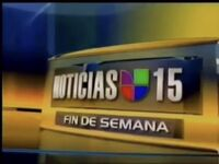 Kinc noticias univision 15 fin de semana package 2006